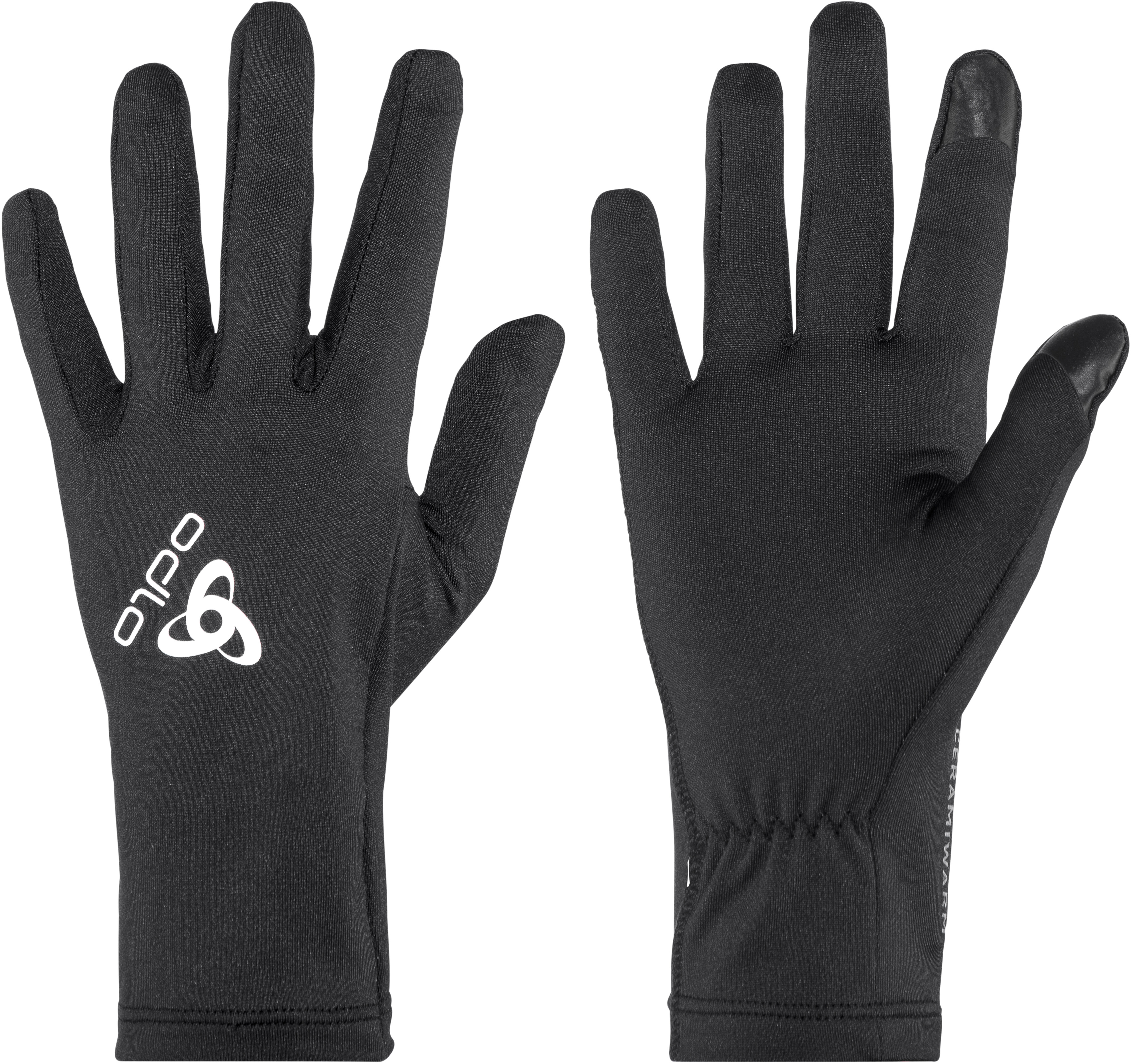 abc0f5d7af44 Odlo Ceramiwarm Light - Gants course à pied - noir - Boutique de ...